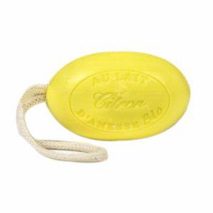 savon-cordelette-au-lait-d-anesse-bio-citron