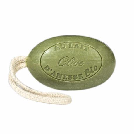savon-cordelette-au-lait-d-anesse-bio-olive